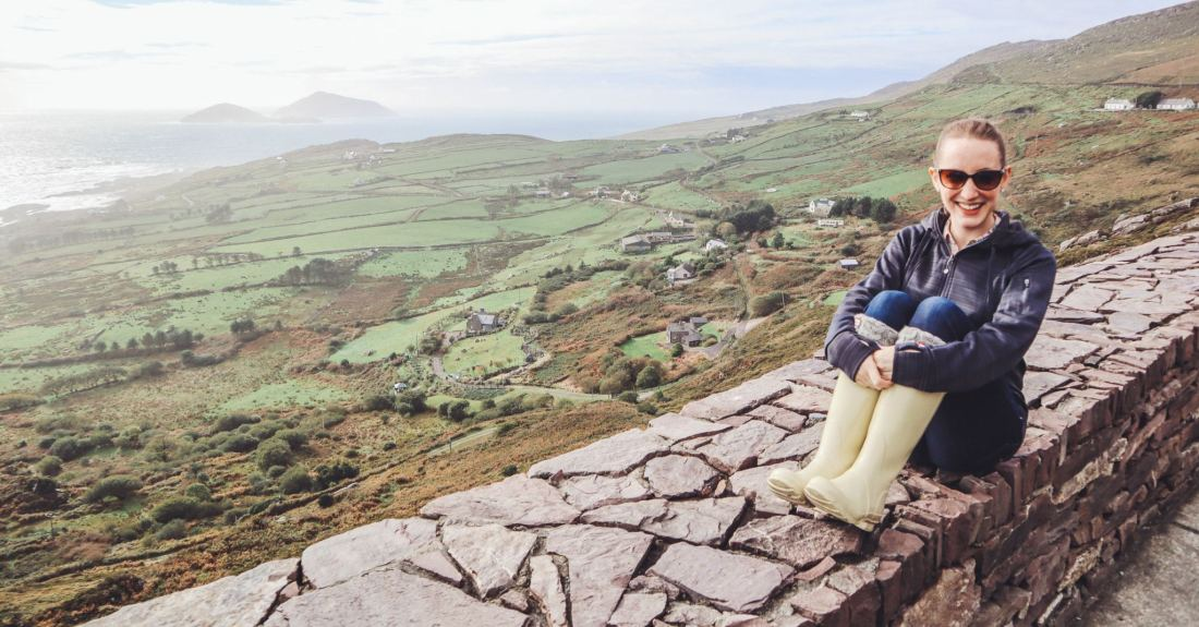 Olivia Leaves | Staycation in Ireland
