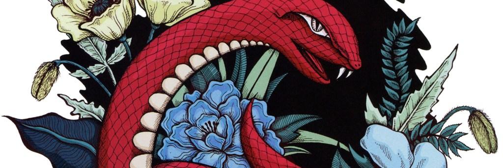Snake illustration by Olivia Linn