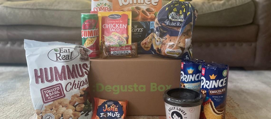 Degusta Box September Review: Family Sharing