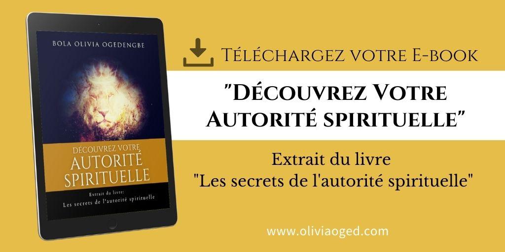 Découvrez votre autorité spirituelle Ebook gratuit