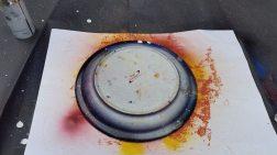 spray plate