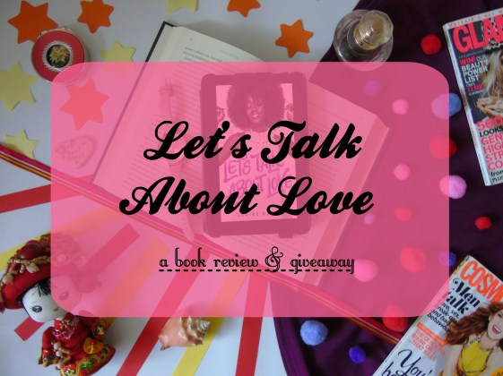 lets talk about love by claire kann book review post thumbnail
