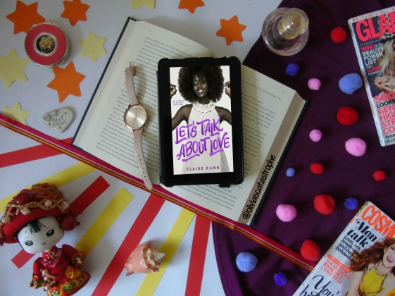 lets talk about love by claire kann flatlay olivia's catastrophe
