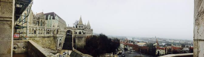 View from Matthius Church over the Danube