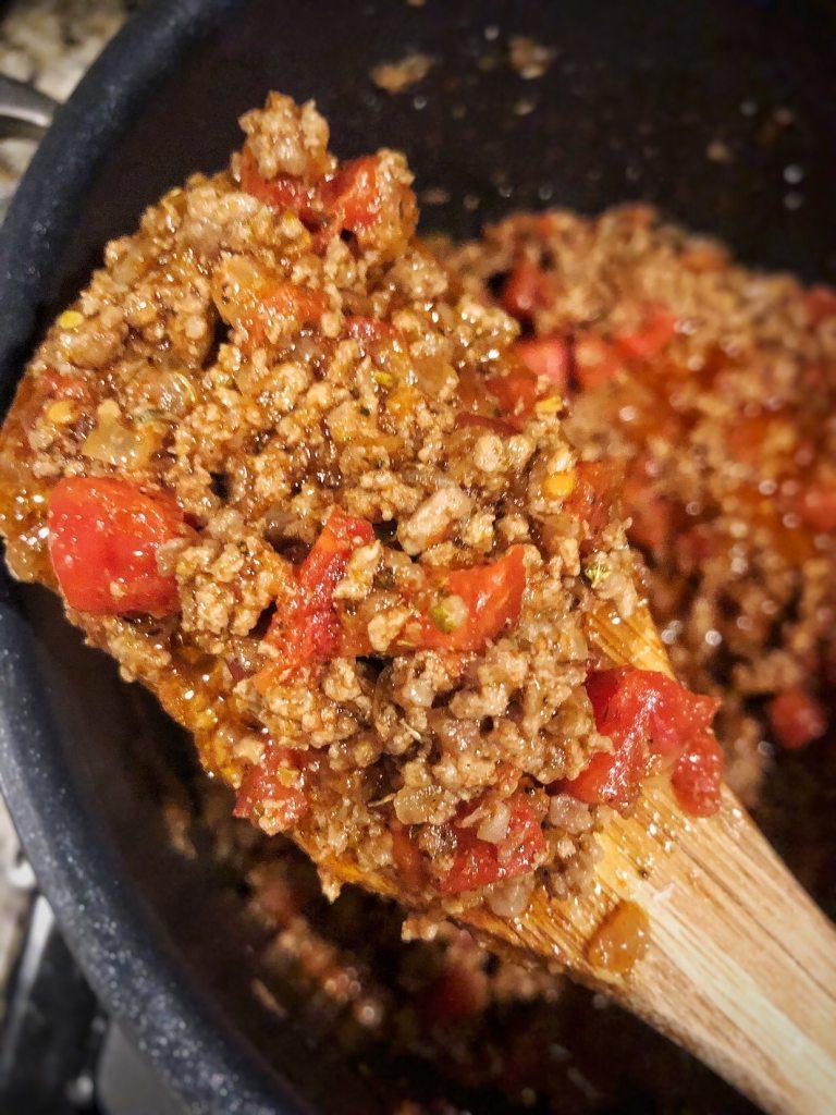 keto, chili, diced tomato, meal prep, stove, keto dinners