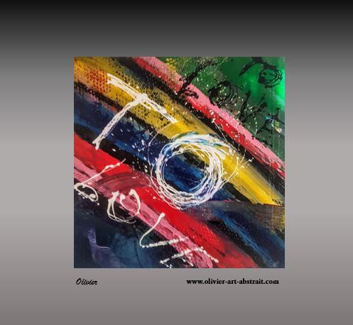 Atsinas Olivier art abstrait vous présente des tableaux muraux abstrait pour votre décoration d'intérieur