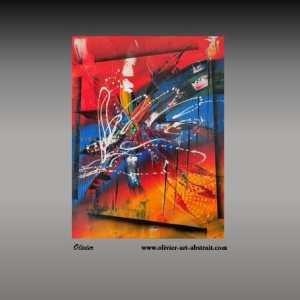 Enigma Olivier art abstrait vous présente des tableaux muraux abstrait pour votre décoration d'intérieur