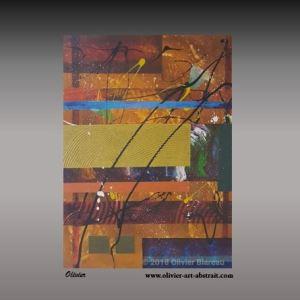 Sisterra II Tableau abstrait