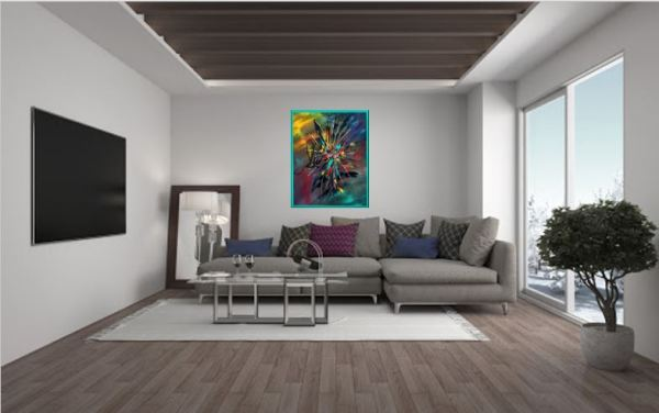 Favonius Olivier art abstrait vous présente des tableaux muraux abstrait pour votre décoration d'intérieur
