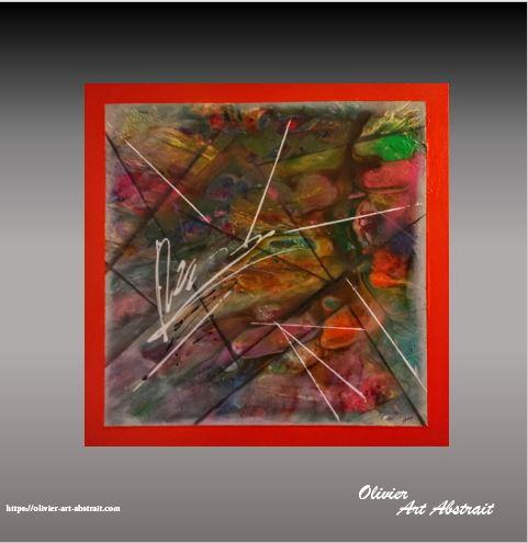AGNI Olivier art abstrait vous présente des tableaux muraux abstrait pour votre décoration d'intérieur