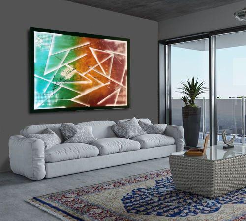 Thalès Olivier art abstrait vous présente des tableaux muraux abstrait pour votre décoration d'intérieur