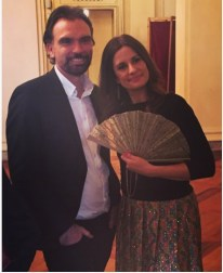 Livia Firth, Colin Firth, Olivier Bernoux, Fans & Friends, Fans & Bags, Fans & Clutches, Fans & Fashion, Weapons of Seduction, Fans, Eventail, Abanico, Handfan, fancy, Elegant, Evening, Handmade.