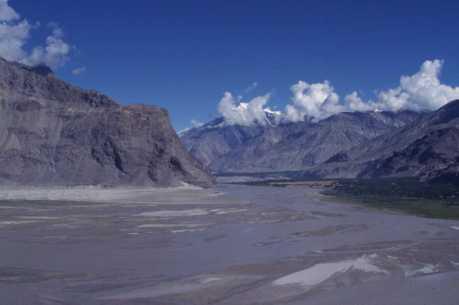 La vallée de Shigar, le 5 août 1999