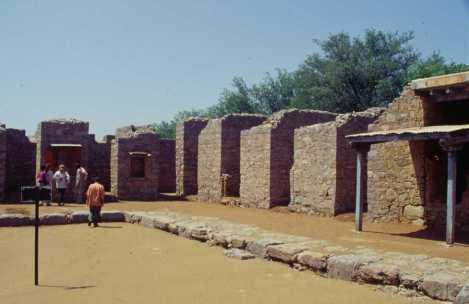 Les ruines de Taxila, le 26 août 1999