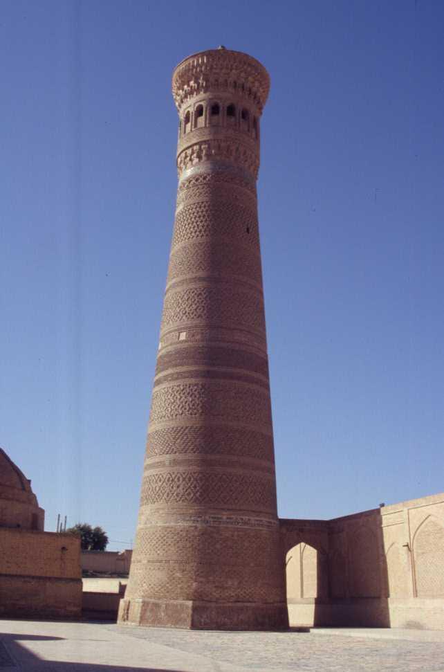 Le minaret Kalian de Boukhara, le 24 août 2004