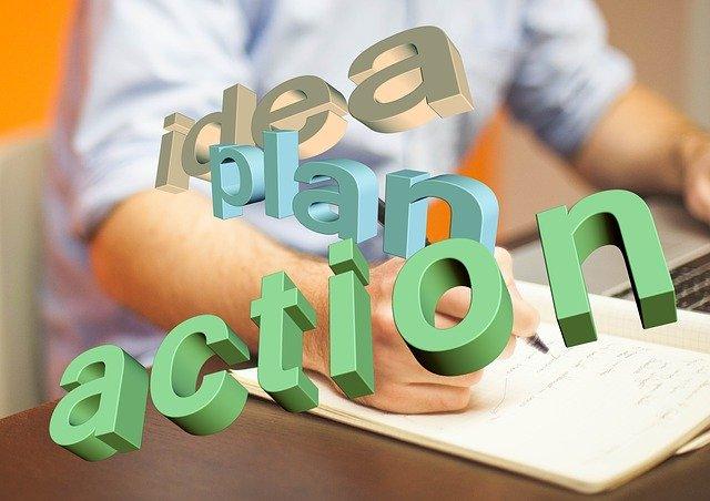 avoir un plan d'actions devenir discipliné