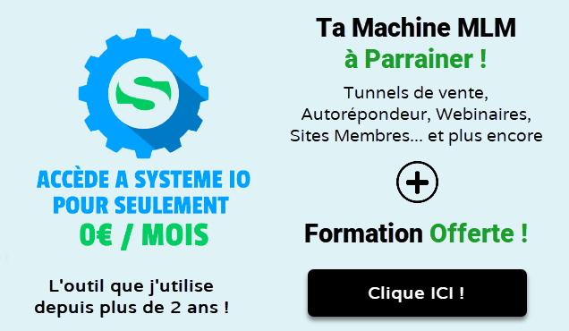 Systeme io accès gratuit + formation offerte v3