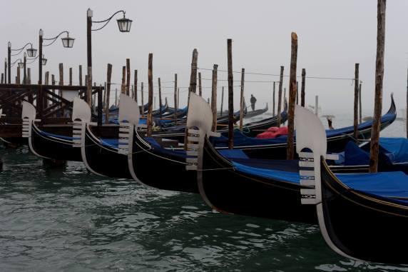 Gondola boats