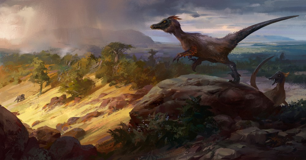 Hunting velociraptors