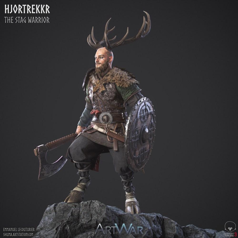 emmanuel-lecouturier-stag-warrior-final-image