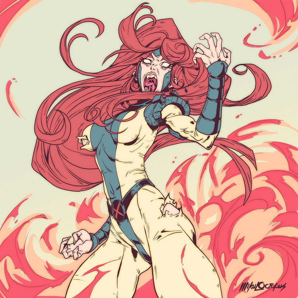 jean grey Mike Anderson