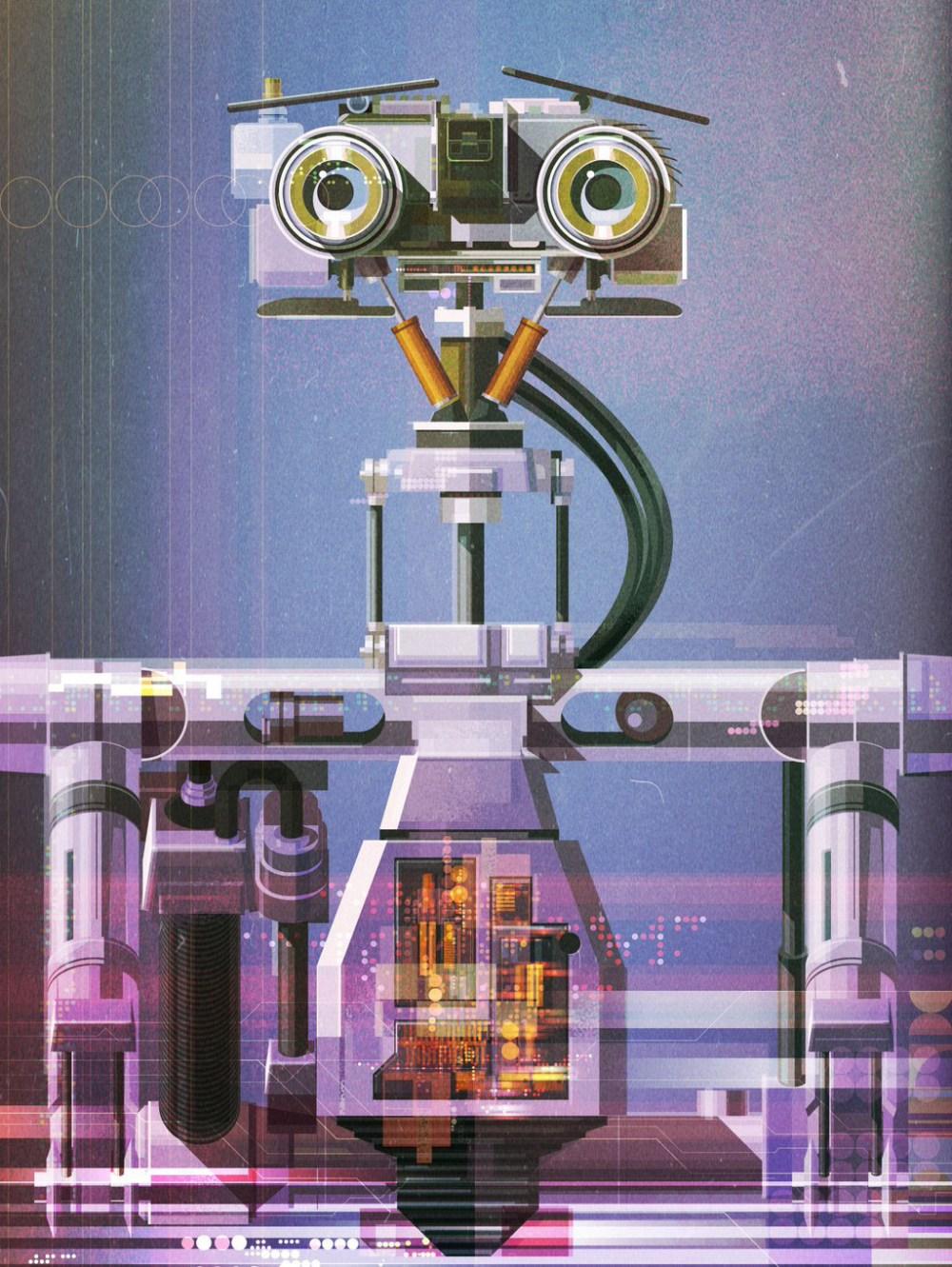James Gilleard robot
