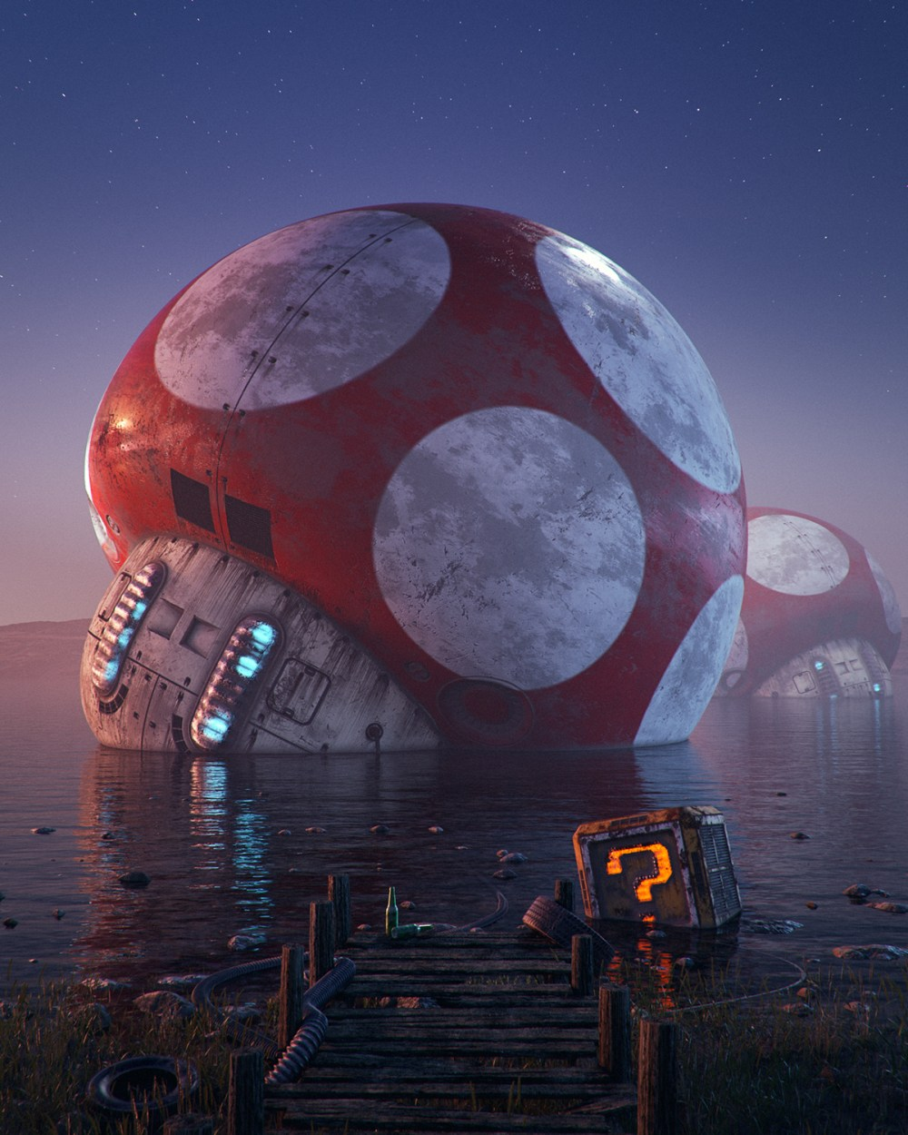 Filip Hodas pop culture dystopia