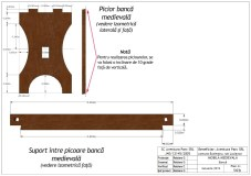 14b banca medievala piese