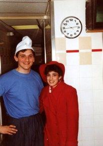 1996 se costumer pour les clients Quick Strasbourg