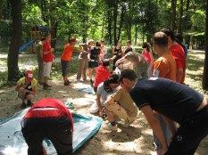 2006 premier team building chez nous, à Aventura Parc