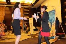 2012 Awarding ceremony team-building artistique