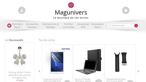 Magunivers.com - La boutique de vos envies