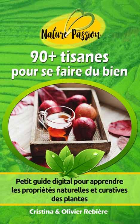 90+ tisanes pour se faire du bien - Cristina Rebiere & Olivier Rebiere - OlivierRebiere.com