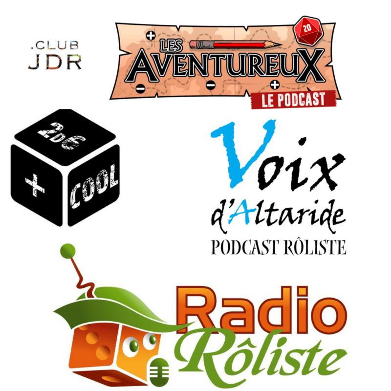 Les Podcasts sur le jeu de rôle