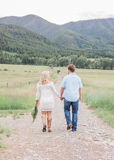 Bozeman Montana Engagement Photographer Olivine Fox Springhill Pavillion Wedding