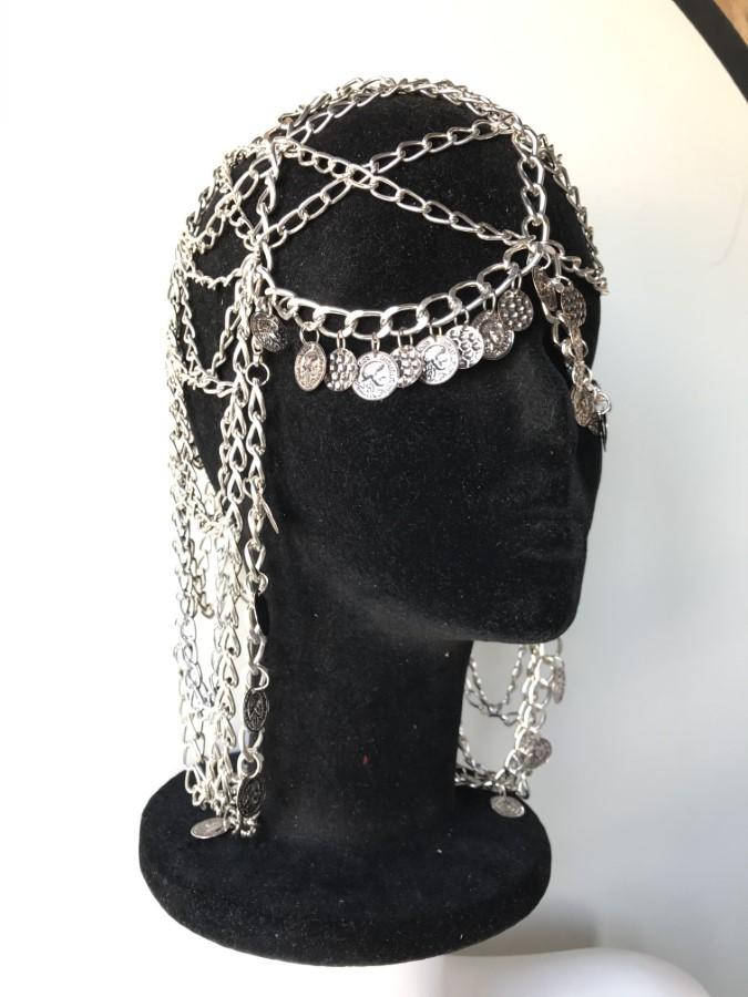 Face Mask Dukati - silver chain