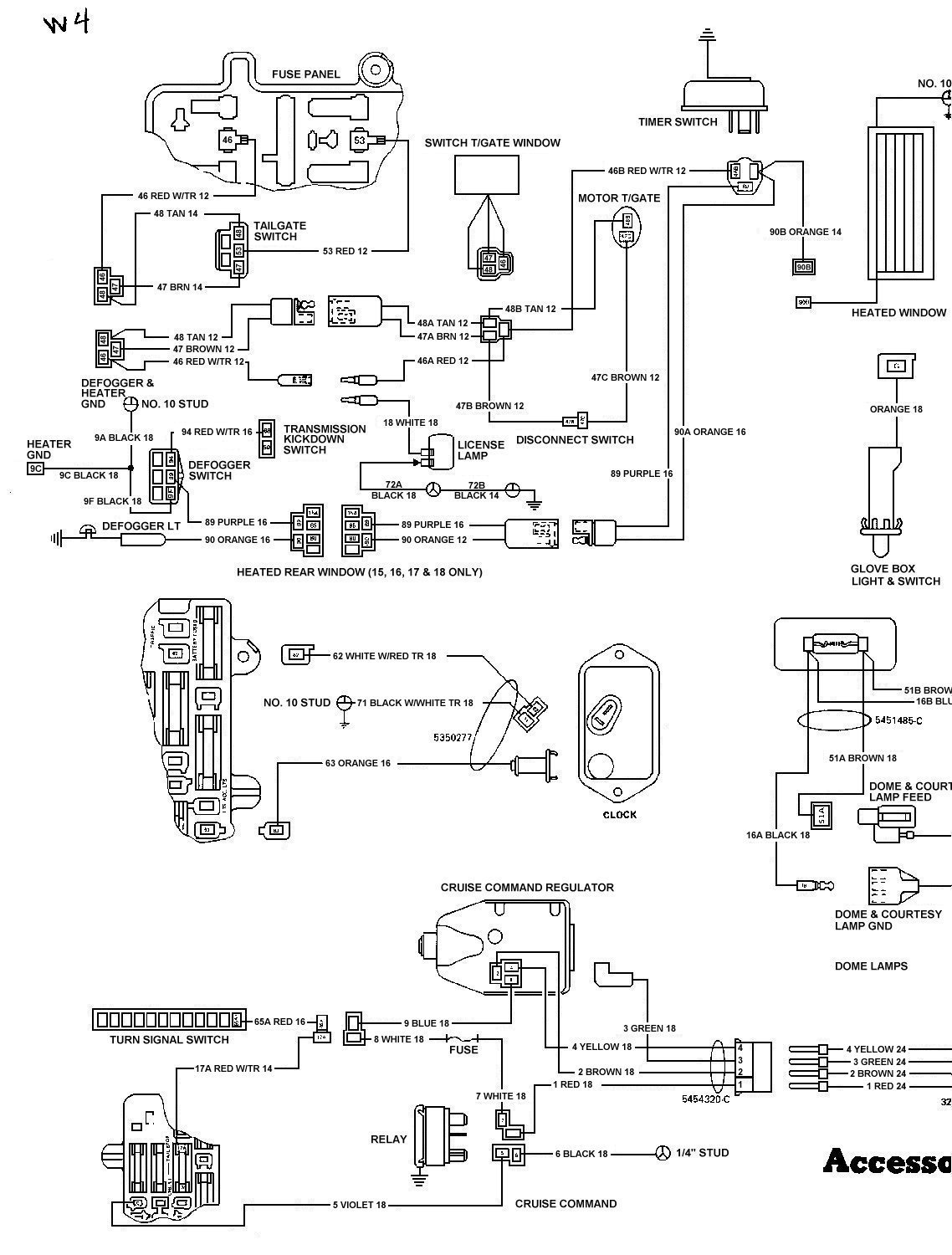Kaiser Willys Wiring Diagrams