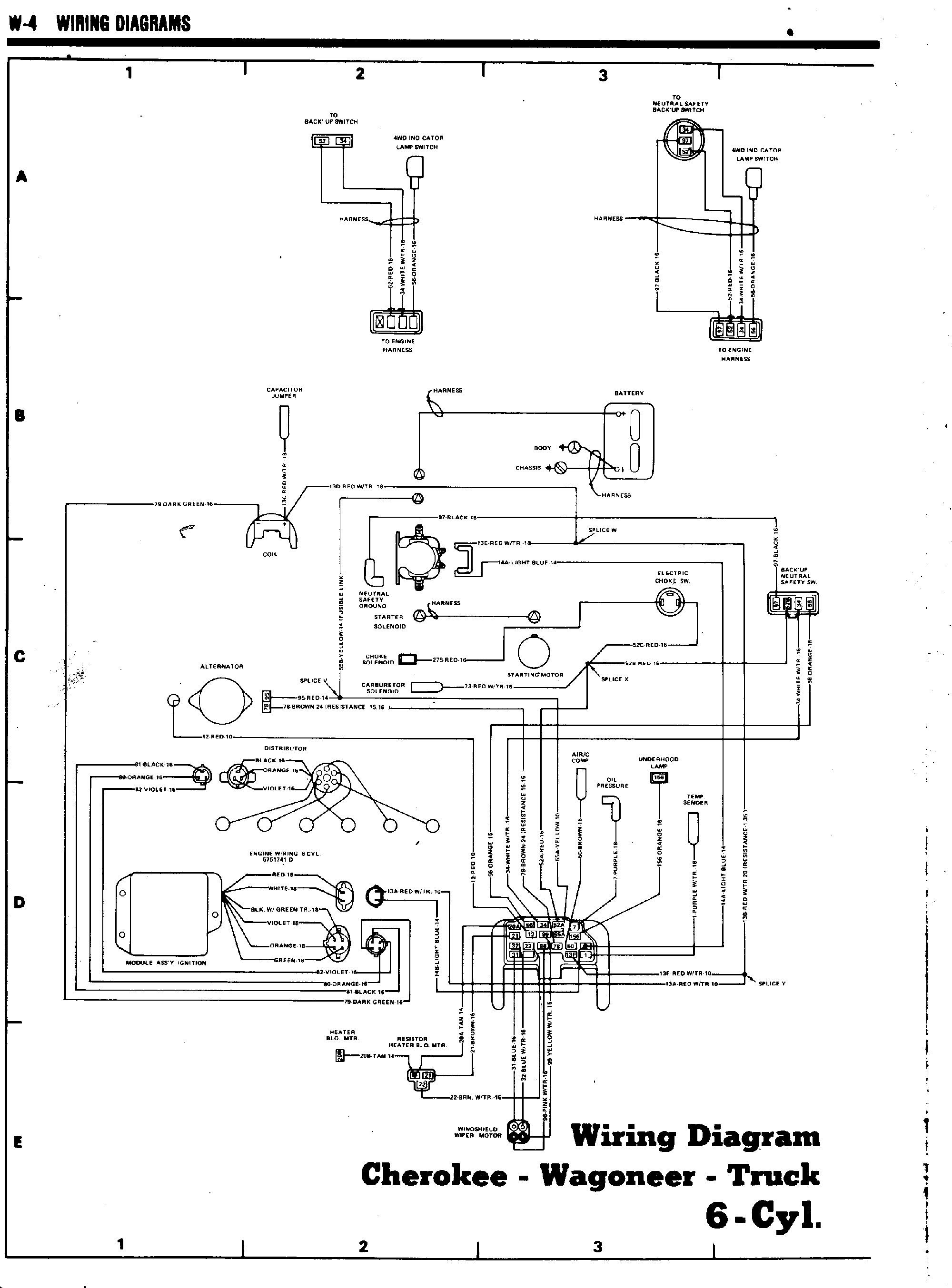 Jeep Grand Wagoneer Engine Diagram
