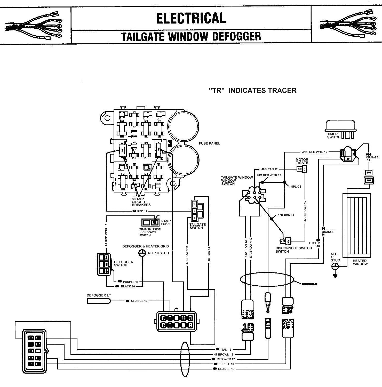 Jeep Cj7 Tail Light Wiring Diagram