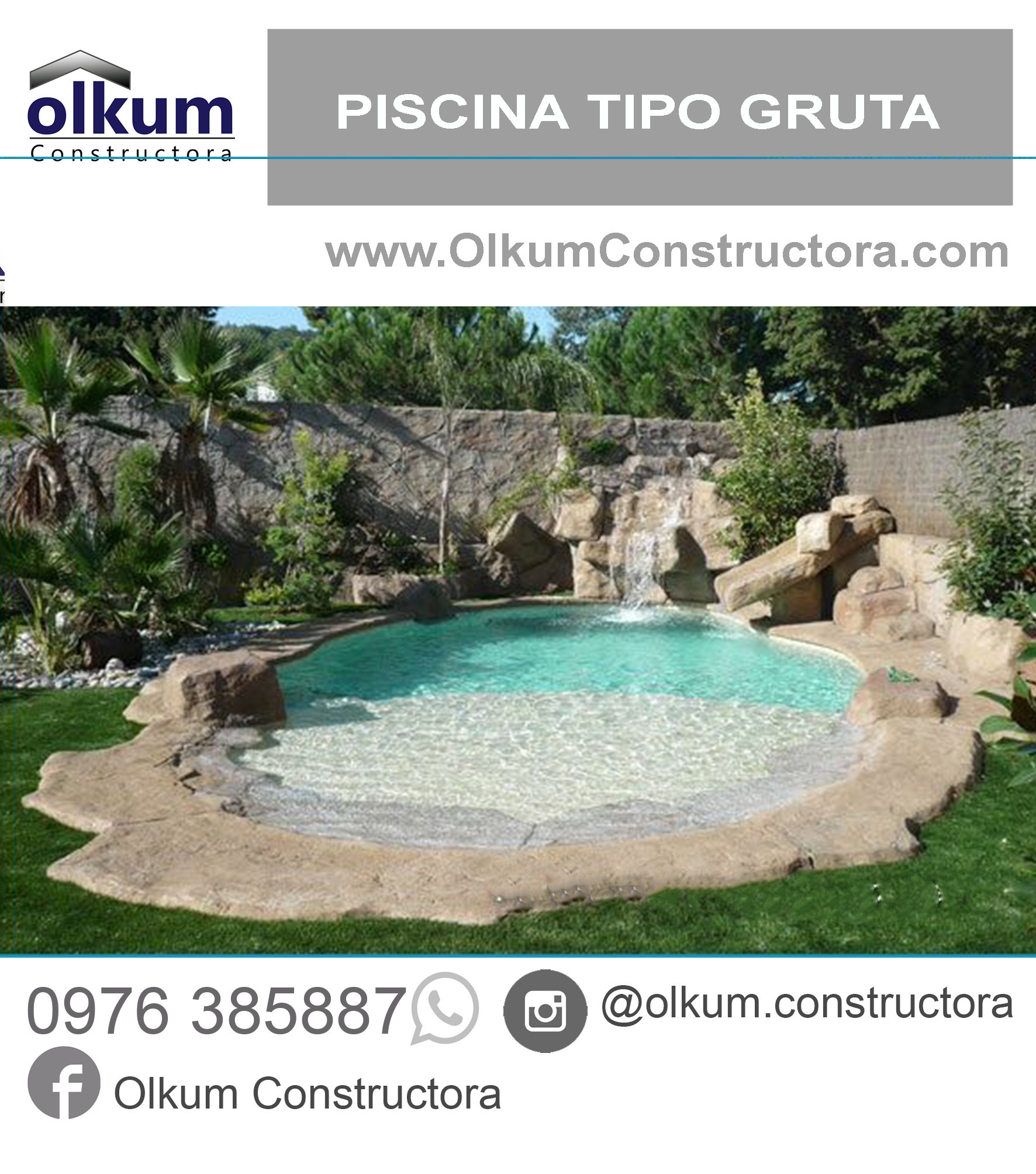Piscinas piscinas modernas construccion de piscinas for Precio construir piscina