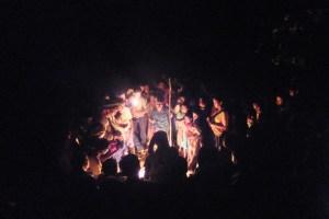 Encuentro ritual comunal. OI