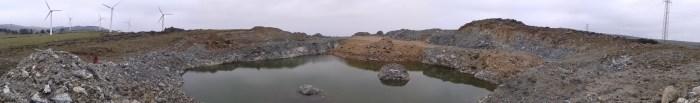 Fochancas mineiras na Capelada (Vixía Herbeira)