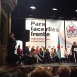 Acto Público do BNG en Ferrol