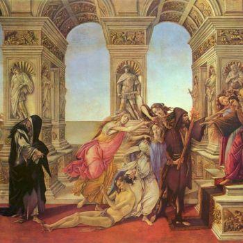 A columnni ade Apeles, de Botticcelli