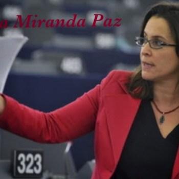 Ana Miranda Paz remata a súa quenda no Parlamento Europeo