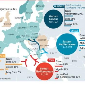 Caos, sufrimento e morte nas portas de Europa. Tampouco agora é unha prioridade ?