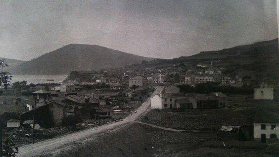 Cedeira dende a Chousa (ca.1909)
