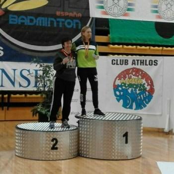 O Clube Bádminton de Cedeira acada tres títulos no campionato estatal celebrado en Ourense