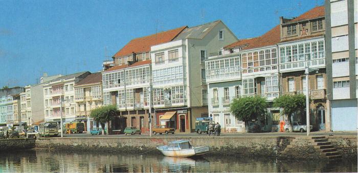 Malecó de Cedeira (ca.1980) Foto.Agromayor