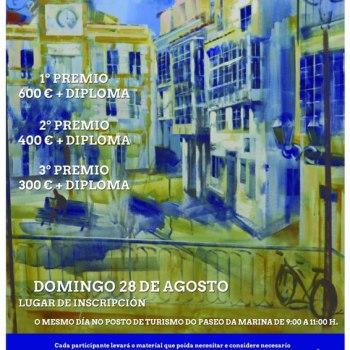 Segunda edición do Certame de Pintura Rápida Vila de Cedeira